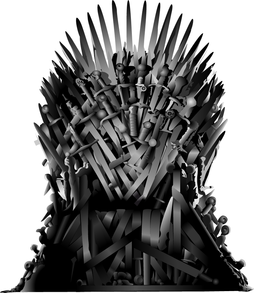 Throne Photography Snow Jon Iron Monochrome Daenerys PNG Image