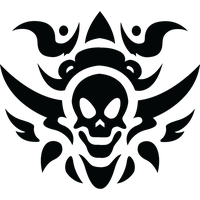 Tribal Skull Tattoos Free Download Png PNG Image