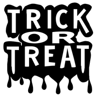 Trick Or Treat Clipart PNG Image