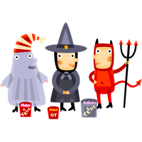 Trick Or Treat Photos PNG Image
