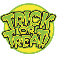 Trick Or Treat Transparent Background PNG Image