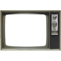 Old Tv Screen PNG Image