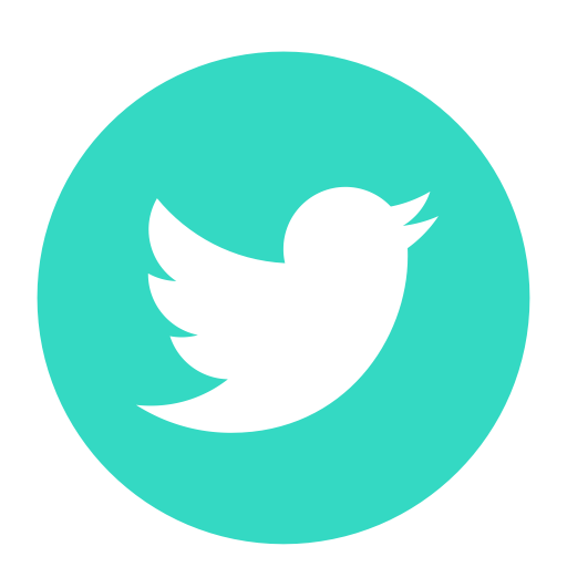 Icons Twitter Youtube Day Computer Republic Teal PNG Image