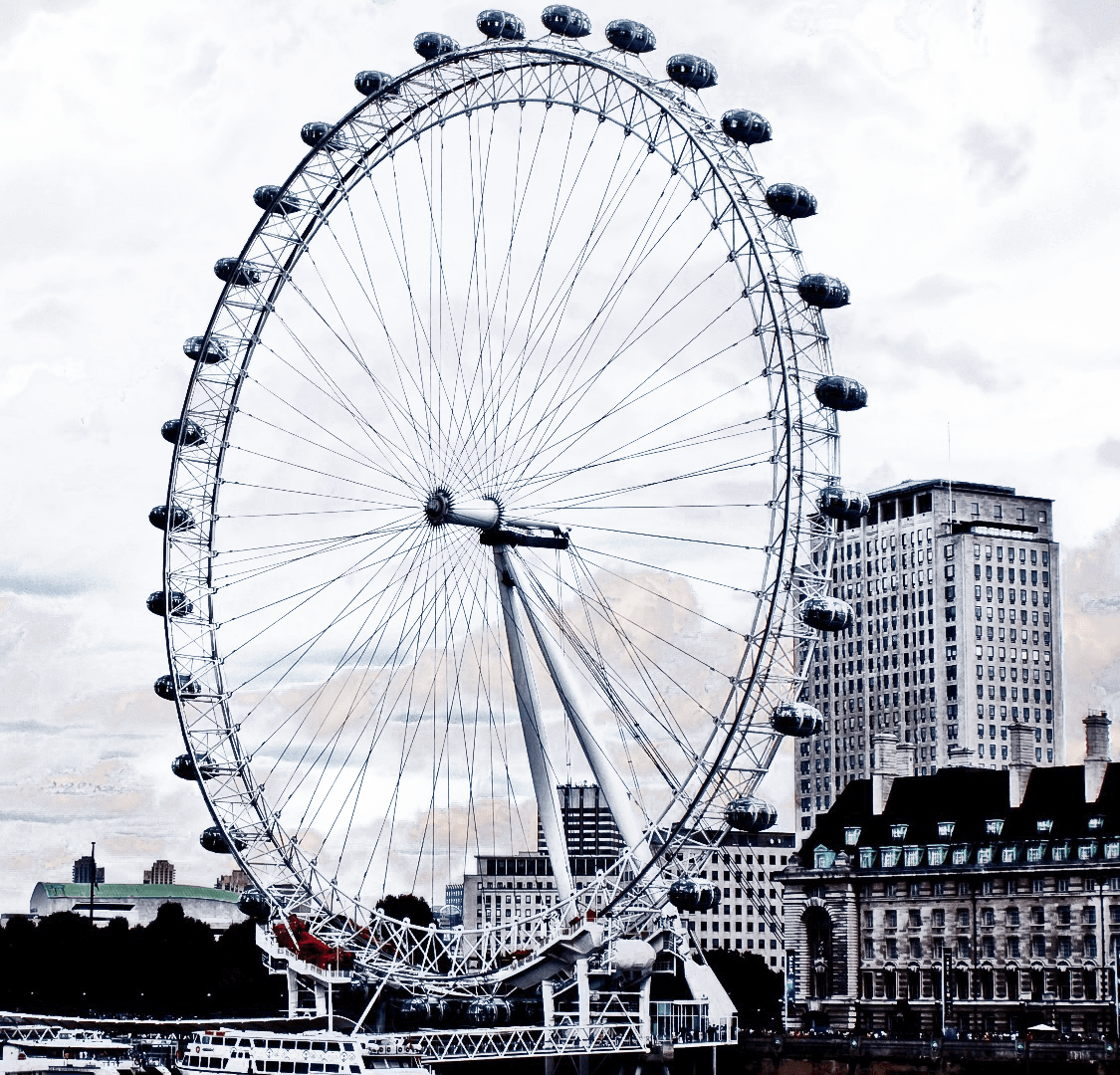 London Eye File PNG Image