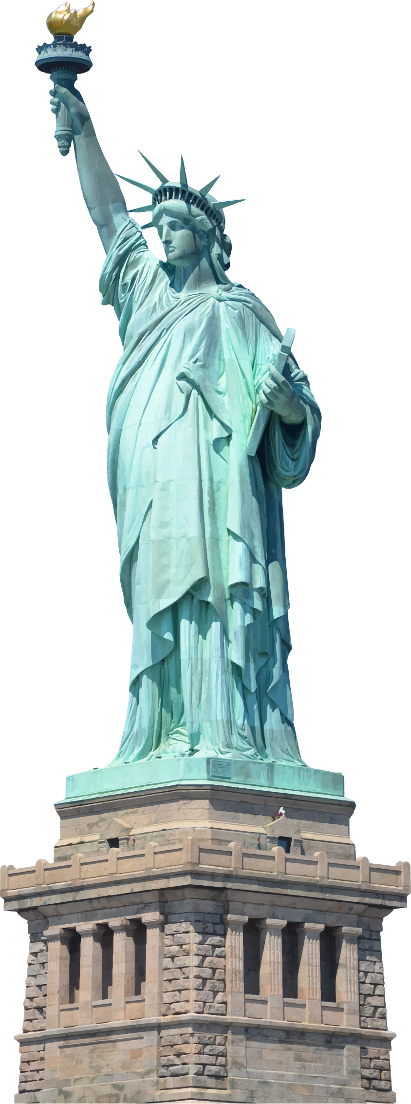 Statue Of Liberty File PNG Image