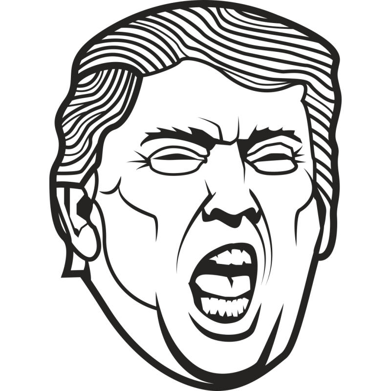 Emotion Art United Protests Trump Against States PNG Image