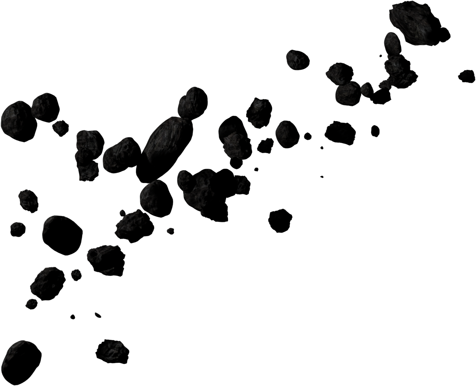 Asteroid Transparent Background PNG Image