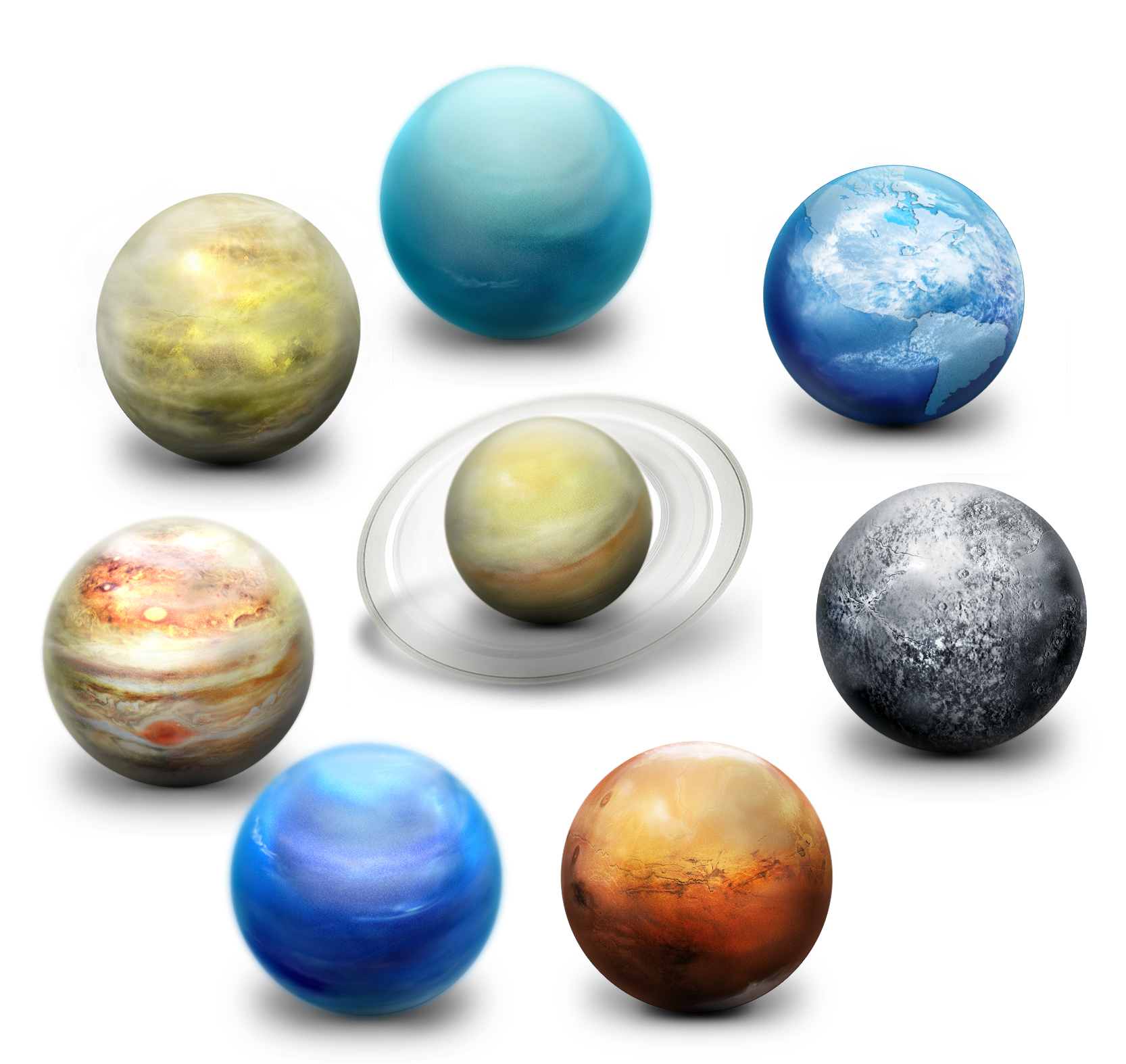 Planet Planets System Solar Icon Free Download PNG HD PNG Image