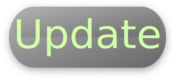 Update Button Clipart PNG Image