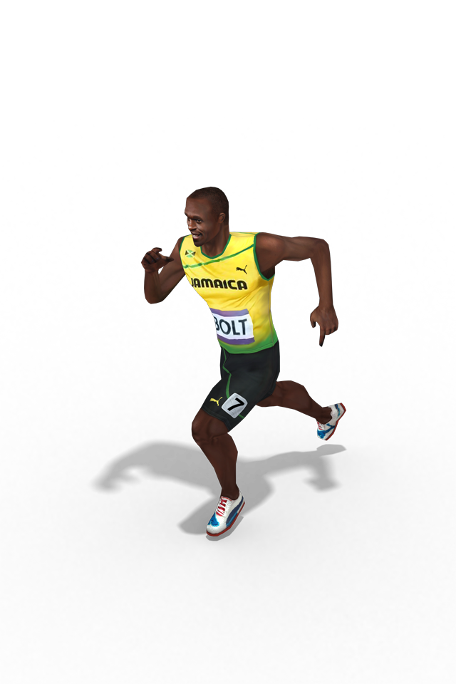 Usain Bolt Transparent Background PNG Image