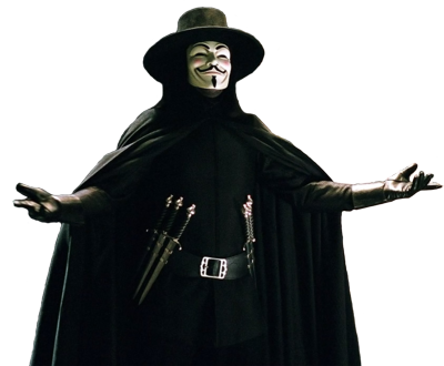V For Vendetta Image PNG Image