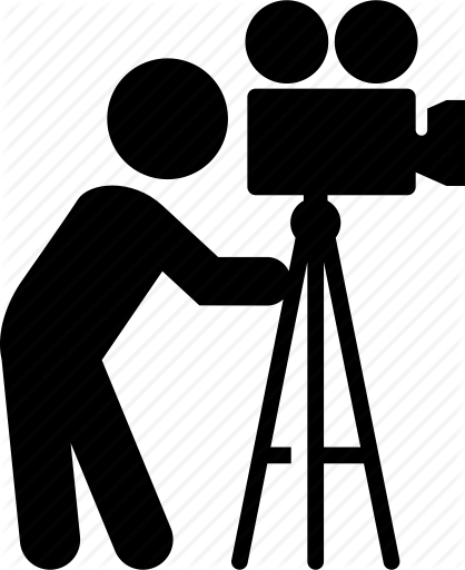 Video Camera Tripod PNG Image