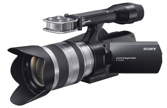 Professional Video Camera Transparent PNG Image