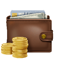 Wallet With Money Png Image PNG Image