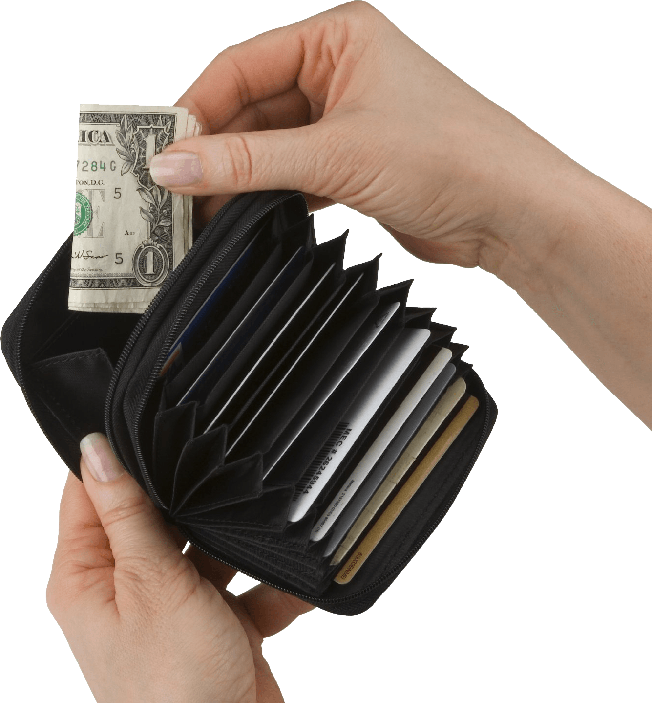 Wallet In Hands Png Image PNG Image