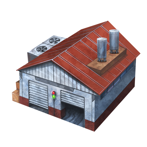 Warehouse Transparent PNG Image