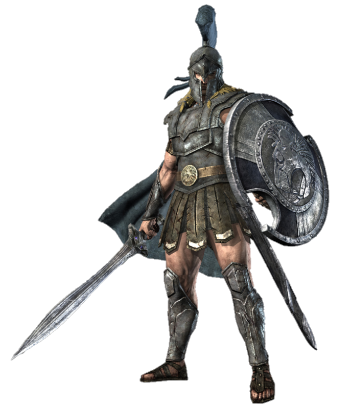 Lance Warrior Hero Ii Rome Achilles Total PNG Image