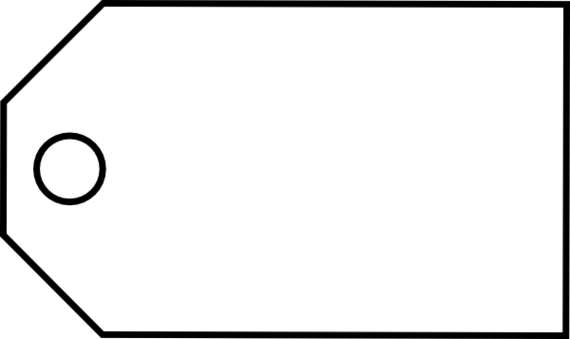 Blank Tag Photo PNG Image