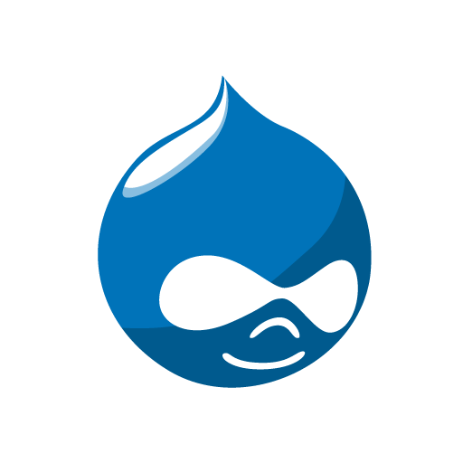 Blue Electric Drupal Symbol Wallpaper Computer Brand PNG Image