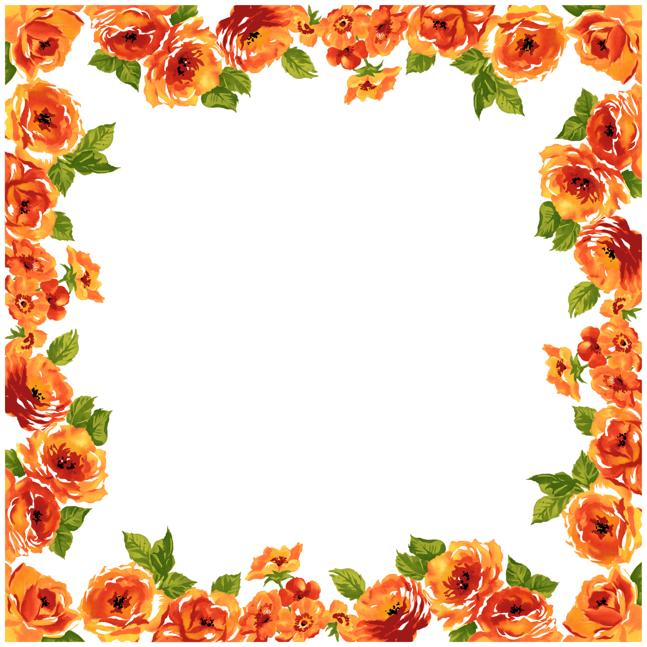 Fancy Wedding Border Transparent PNG Image