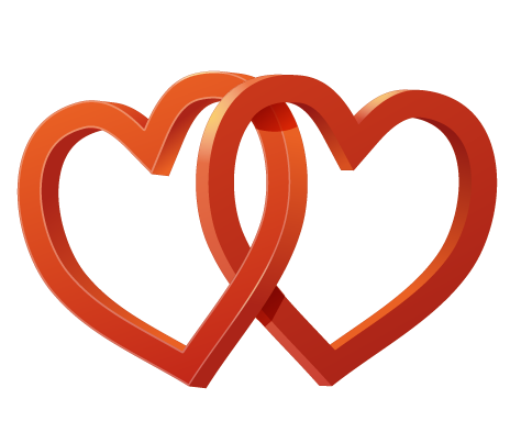 Wedding Heart File PNG Image