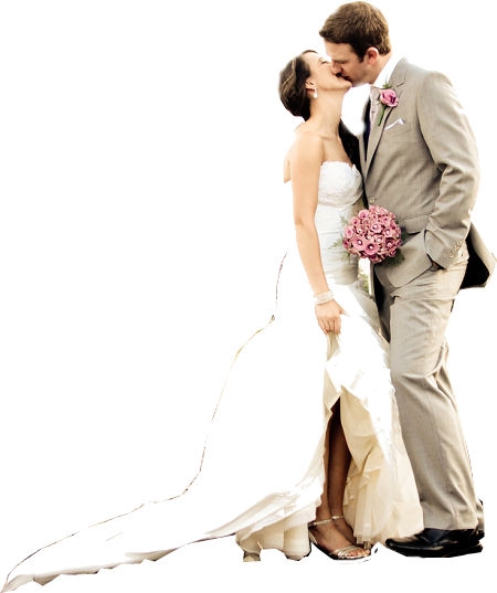 Wedding Couple Clipart PNG Image