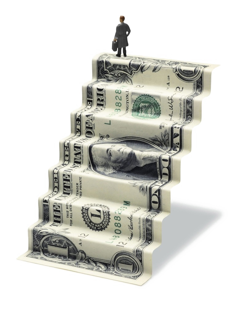 Goal Money Bill Dollar Budget Folded Marriage PNG Image