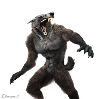 Werewolf Clipart PNG Image