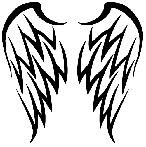 Wings Tattoos Free Download Png PNG Image