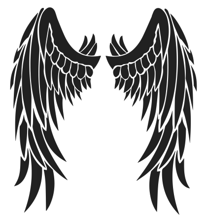Wings Tattoos Picture PNG Image