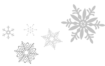 Snowflakes Transparent PNG Image