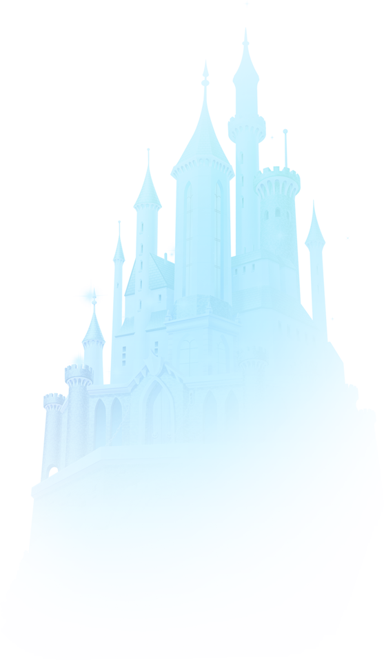 Pattern Castle Winter Disney Creative Download HD PNG PNG Image