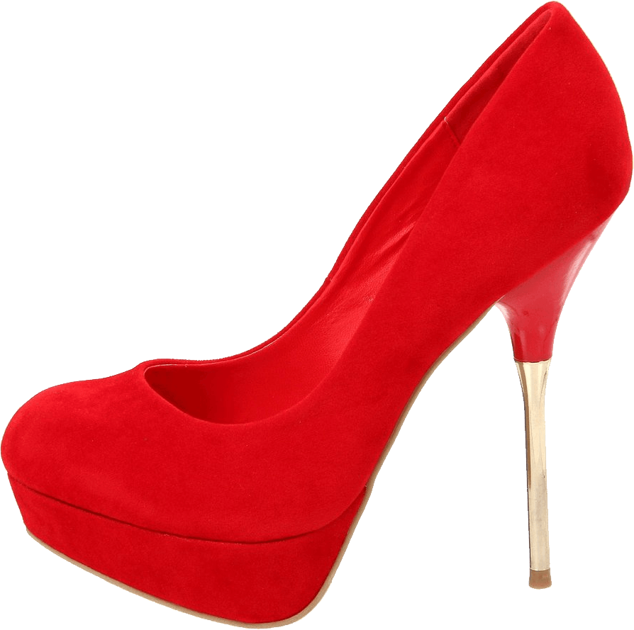 Red Women Shoe Png Image PNG Image