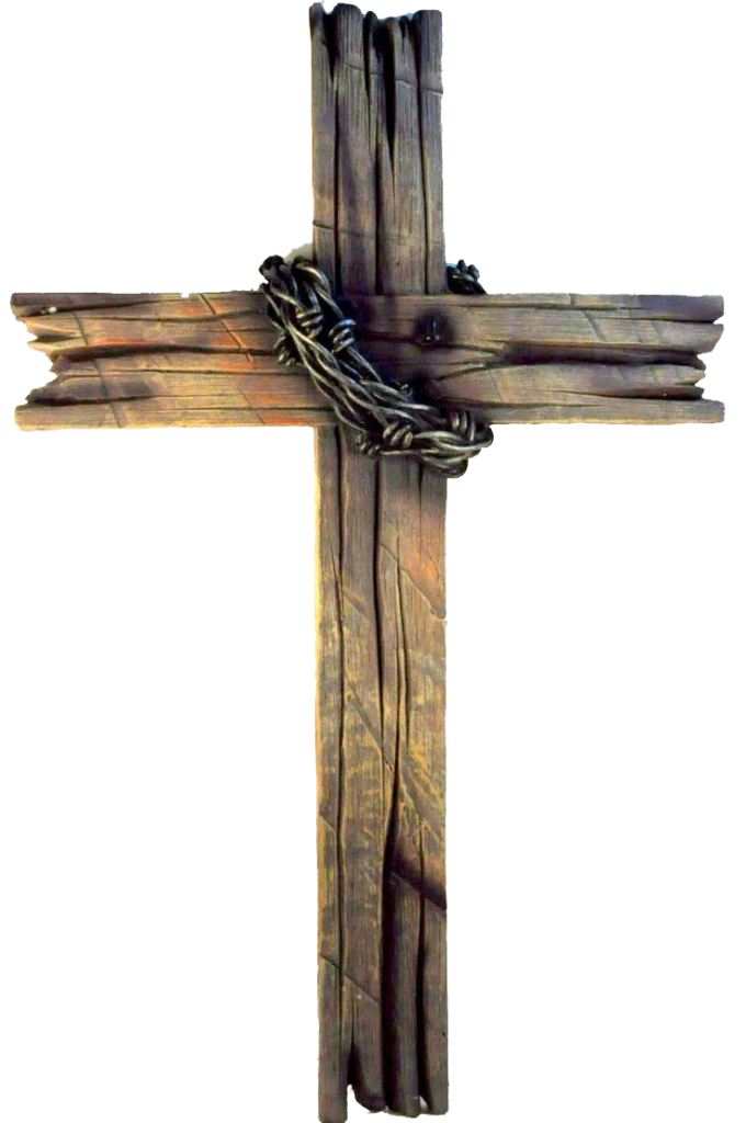 Rugged Cross Christian Wood Old The Drawing PNG Image