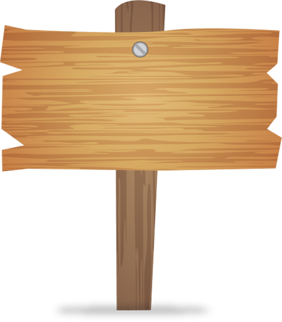 Billboard Wooden Wood Signs Sign PNG Image High Quality PNG Image