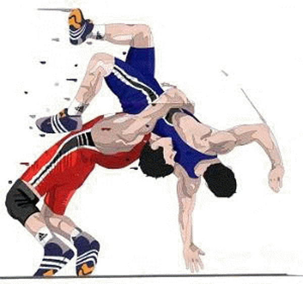 Wrestling Photos PNG Image