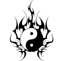 Yin-Yang Tattoos Free Download Png PNG Image