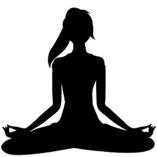 Lotus Position Yoga Exercise Free Clipart HD PNG Image