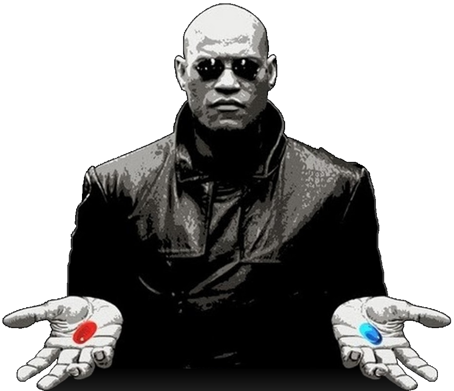And Neo Play Good Matrix Blue Youtube PNG Image