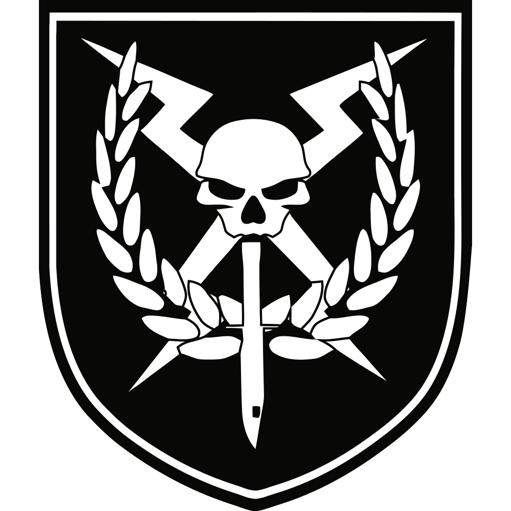 Clan And Character Fictional Squad Black White PNG Image
